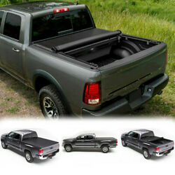 6'Ft Blk Soft Vinyl Roll-Up Tonneau Cover Assembly For 04-14 ColoradoCanyon Bed