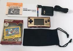 Nintendo GAME BOY MICRO with Super Mario Bros. software from jAPAN $256.15