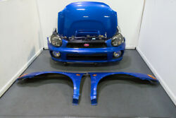 JDM Bugeye Version 7 WRX STI Front Clip HID Headlights and Multicolor Fog Light