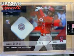2018 Topps NOW MLB #553A Shohei Ohtani Base Relic First Multi HR Game #34 99 $229.00