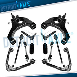 12pc Front Upper amp; Lower Control Arms Suspension Kit 99 06 GMC Sierra 1500 2WD $267.00