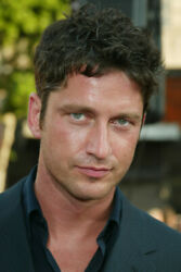 Gerard Butler Color 24x36 Poster Print Close Up Candid