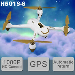 Hubsan H501S S 5.8G FPV Drone Brushless 1080P RC Quadcopter GPS RTHBNFBattery $95.00