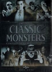 Universal Classic Monsters: Complete 30-Film Collection 21 DVD Box Set Brand New