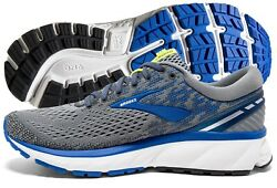 Brooks Ghost 11 Mens Running Shoe GreyBlueSilver multiple sizes New In Box