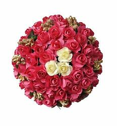 Full Juda Bun Hair Flower Gajra for Wedding and Parties Use for Women Pack of 1 $10.40