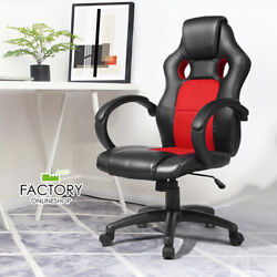 Office Gaming Chair Ergonomic Executive Computer Desk Chair Swivel PU Leather $88.96