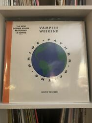 Spotify Exclusive Vampire Weekend - Father of the Bride BLUE  GREEN Vinyl