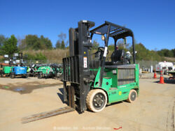 2011 Mitsubishi FBC25N 4500 lbs Electric Warehouse Forklift Side Shift Squeeze