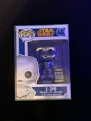 Funko Pop! E-3po 46 Star Wars Galactic Convention Excl.