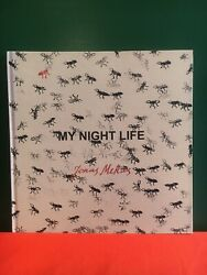 SIGNED Jonas Mekas My Night Life RARE Inscribed HC Avant Garde Film Anthology