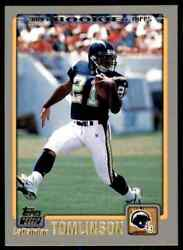 2001 Topps Ladainian Tomlinson RC Chargers #350 $19.95