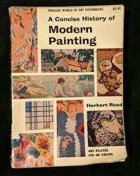Vintage 1959 A Concise History of Modern Painting by Herbert Read Paperback Book