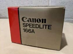 Canon Speedlite 166A Shoe Mount Flash for Canon WLeather Protective Case