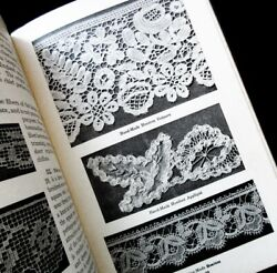 4 Vintage ILLUST'D. Reference Books Making & Identifying Antique Handmade Lace