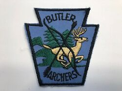 VINTAGE Butler Archers - Archery Hunting Club Patch (Butler Pennsylvania)