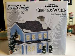 dept 56 snow village National Lampoon Christmas Vacation Todd And Margo's House