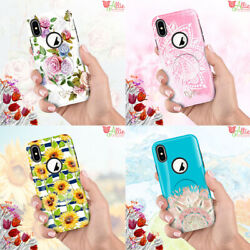 F iPhone 8 Plus XS Max XR 11 Pro Max Girls Love Cute Protective Phone Case Cover $6.99