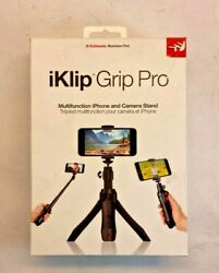 IK Multimedia iKlip Grip Pro - Multifunction iPhone and Camera Stand