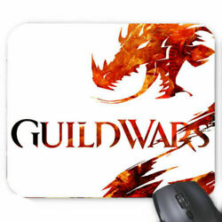 Limited New !! Guild Wars 2 Logo Mousepads