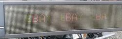 Programmable Sign Adaptive Micro Systems Alpha 7120C w Remote $299.00