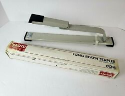Vintage Sparco #01316 12.5 Long Reach Metal Stapler Office Supply Metal Desk $19.99
