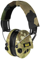 Sordin Supreme Pro X - Active Safety Ear Muffs with LED Light - Hearing...