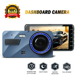Full HD 1080P DVR Camera Night Vision Driving Recorder Front and Rear Camera WDR