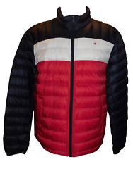 NEW NWT Men's TOMMY HILFIGER Lightweight Packable Down Puffer Coat Jacket SMALL