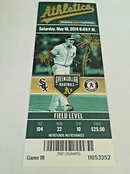 Billy Butler HR #131 Home Run May 16 2015 51615 A's White Sox Full Ticket