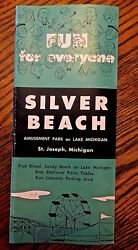 Silver Beach St. Joseph MI Pamphlet 1960's Vintage Stocking Stuffer!