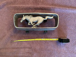 Ford Mustang 1966 Coupe Emblem Hood Ornament