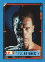 1991 Terminator II Judgment Day Stickers #1 I'll Be Back