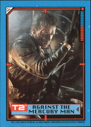 1991 Terminator II Judgment Day Stickers #32 Against the Mercury Man