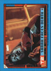 1991 Terminator II Judgment Day Stickers #33 Sarah Faces Death