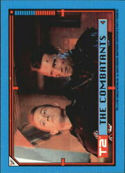1991 Terminator II Judgment Day Stickers #22 The Combatants