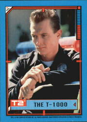 1991 Terminator II Judgment Day Stickers #5 The T-1000