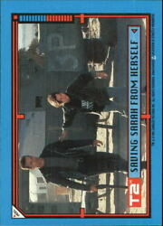 1991 Terminator II Judgment Day Stickers #18 Saving Sarah from Herself