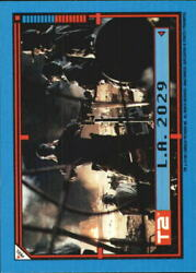 1991 Terminator II Judgment Day Stickers #6 L.A. 2029