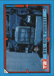 1991 Terminator II Judgment Day Stickers #12 Big-Rig Pursuit