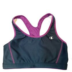 Champion Bra Sports Purple amp; Gray Size Small $3.00