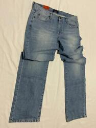 MEN'S JEANS 32 x 34 SIZE PANTS STANDARD STRAIGHT FIT DENIM NEW STYLISH  STRAIGHT