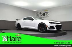 2019 Chevrolet Camaro ZL1 2019 Chevrolet Camaro ZL1 6 Miles Summit White 2D Coupe 6.2L V8 Supercharged 10-