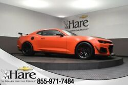2019 Chevrolet Camaro ZL1 2019 Chevrolet Camaro ZL1 8 Miles Crush 2D Coupe 6.2L V8 Supercharged 6-Speed Ma