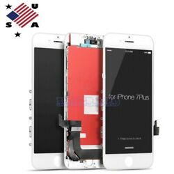 For iPhone 7 Plus 7 LCD DIgitizer 3D Touch Screen Replacement Full Assembly AAA+ $20.99