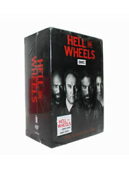 Hell on Wheels The Complete Series 17 DVD Box Set New USA Sealed
