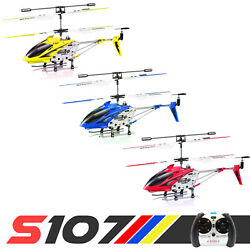 Syma S107G Mini RC Helicopter Phantom 3.5CH Metal Remote Control Helicopter GYRO $23.98