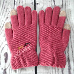 Women Winter Warm Gloves Finger Touch Screen Knit Medium for Girls $12.34
