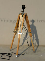 Vintage Design Table Lamp Stand Handmade Mini Floor Lamp Desk Shade Light Decor $46.00