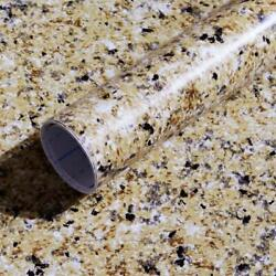 Granite Brown Contact Paper Countertops Waterproof Thick Wallpaper For Kitchen $12.34